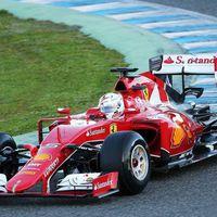 F1 Vettel az élen zárta első Ferraris tesztjét - Jerez, 1.tesztnap
