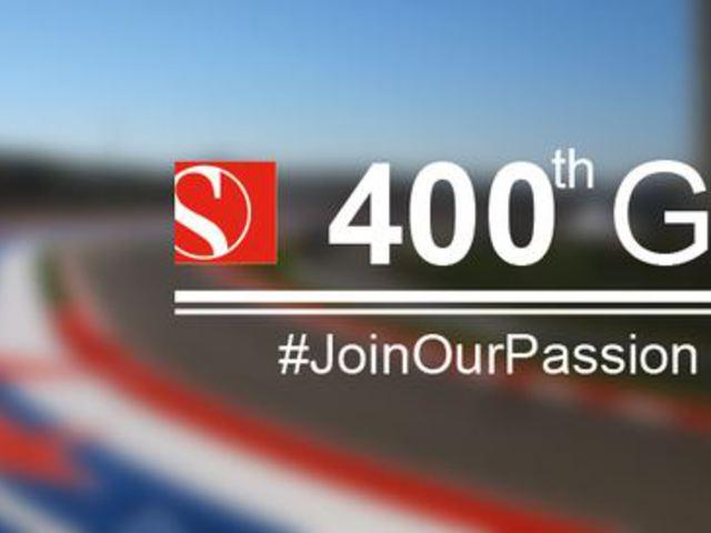 F1 Felejthetetlen pillanatok gyűjteménye - A Sauber 400. nagydíjára készül