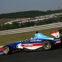 GP3 Kiss Pál Tamás autójából elfogyott az erő az időmérőn