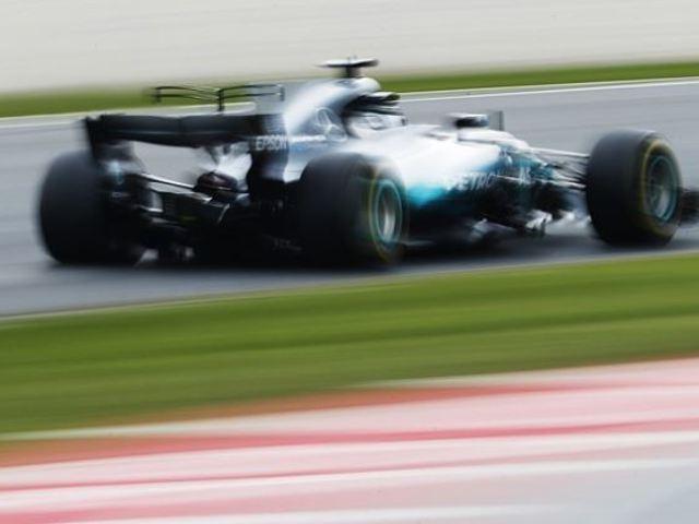 F1 Bottas az élen, Räikkönen gumifalban zárta a második tesztnapot