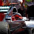 F1 Schumacher megtarthatja dobogós helyét