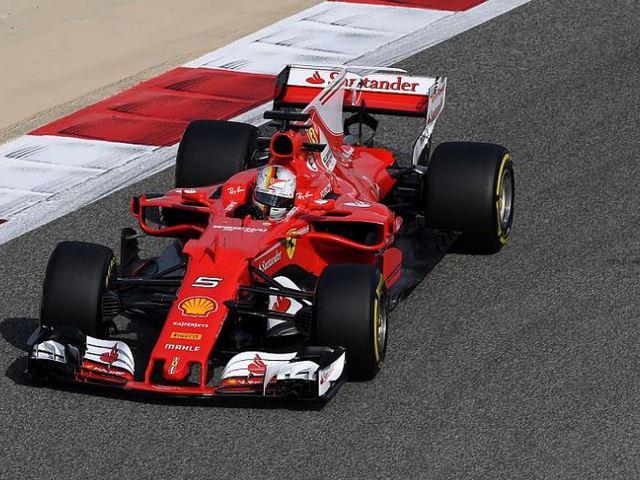 F1 Pénteken Vettel volt az úr Bahreinben