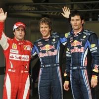 Vettel áradozik, Webber duzzog