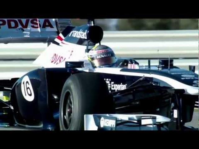 F1 Barcelonában bemutatkozott a 2013-as Williams (Videóval)