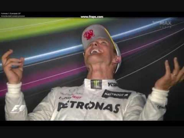 F1 Schumacher a valenciai dobogó után sem dönt még jövőjéről