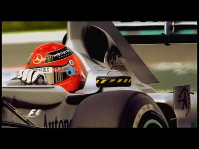 F1 Michael Schumacher utolsó három évének nagy pillanatai - 1.rész