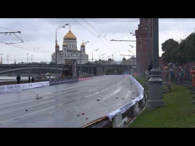 F1 Kobajasi kamikaze akciója Oroszországban (Videóval)