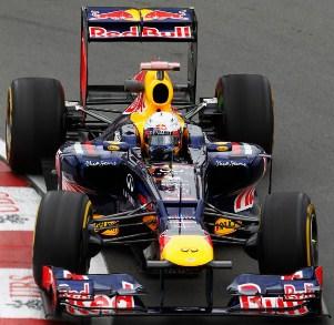 F1 Vettel az élen az időmérő előtt