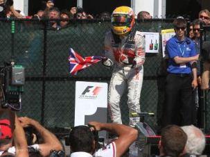 F1 Hamilton visszatért a csúcsra