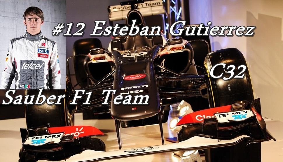 12. Sauber F1 Team C32 Esteban Gutierrez.jpg