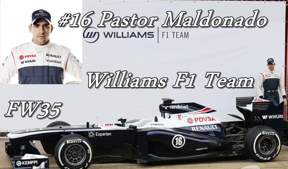 16. Williams F1 Team FW35 Pastor Maldonado.jpg