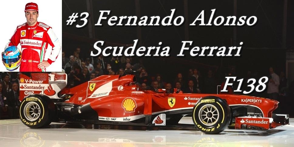 3. Scuderia Ferrari F138 Fernando Alonso.jpg