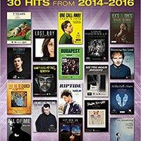 ?VERIFIED? Popular Sheet Music: 30 Hits From 2014-2016. think winner Designed archivos mayor