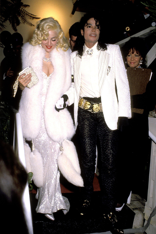 Madonna és Michael Jackson