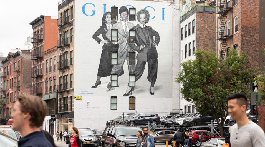 Furcsa graffitik a világ divatfővárosaiban