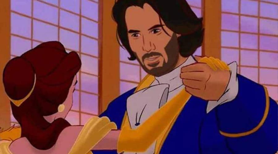 Keanu Reeves Disney herceg lett!