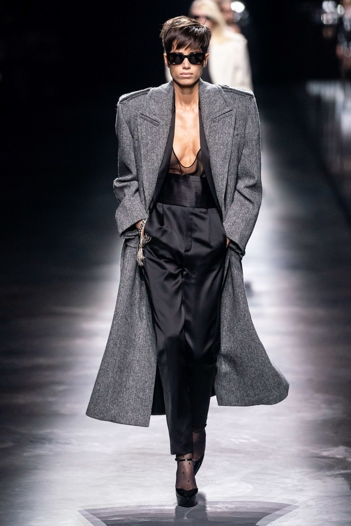 Óriás kabát - Saint Laurent