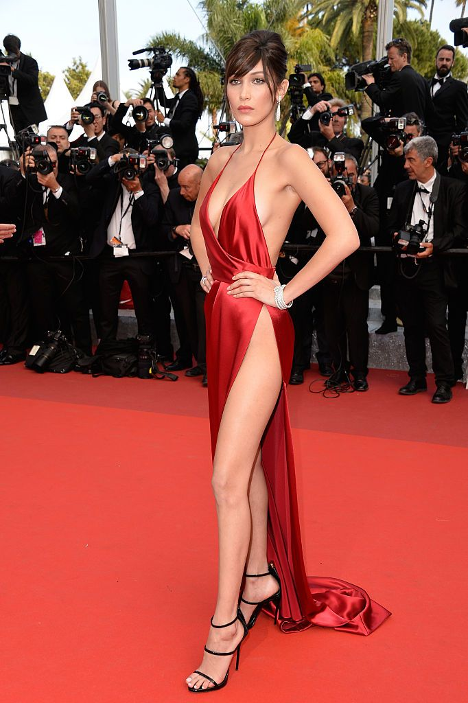 BELLA HADID<br /><br />Alexandre Vauthier Couture<br />2016.