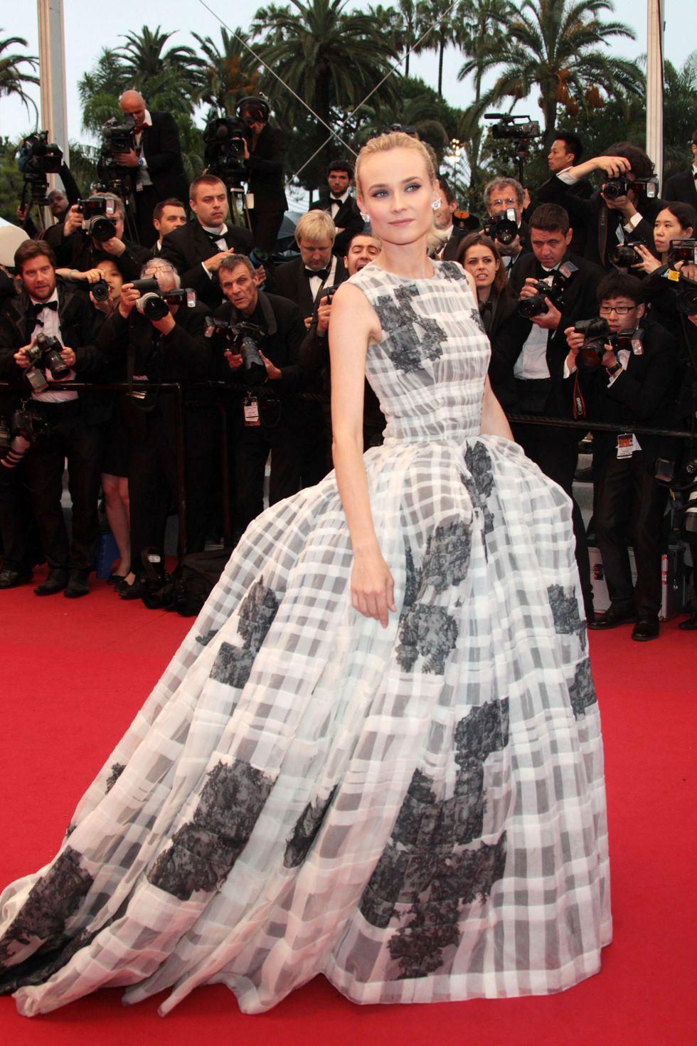 DIANE KRUGER<br /><br />Dior Haute Couture<br />2012.