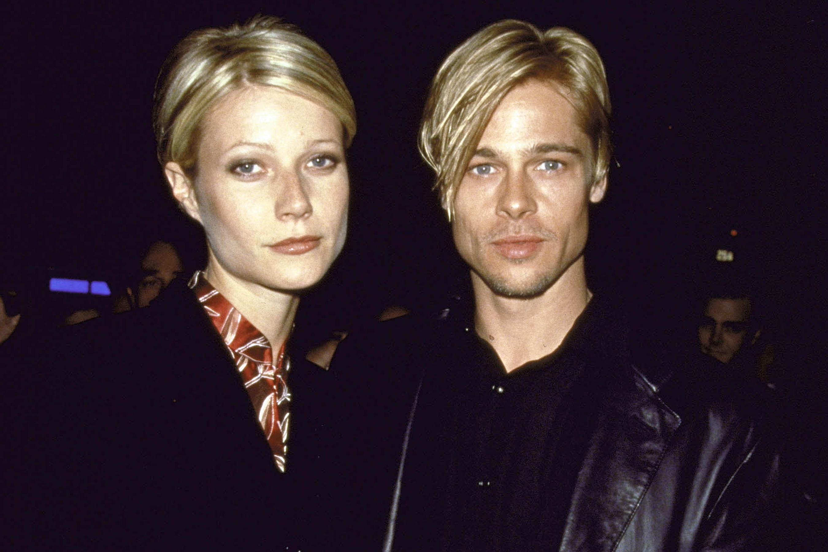 Gwyneth Paltrow és Brad Pitt
