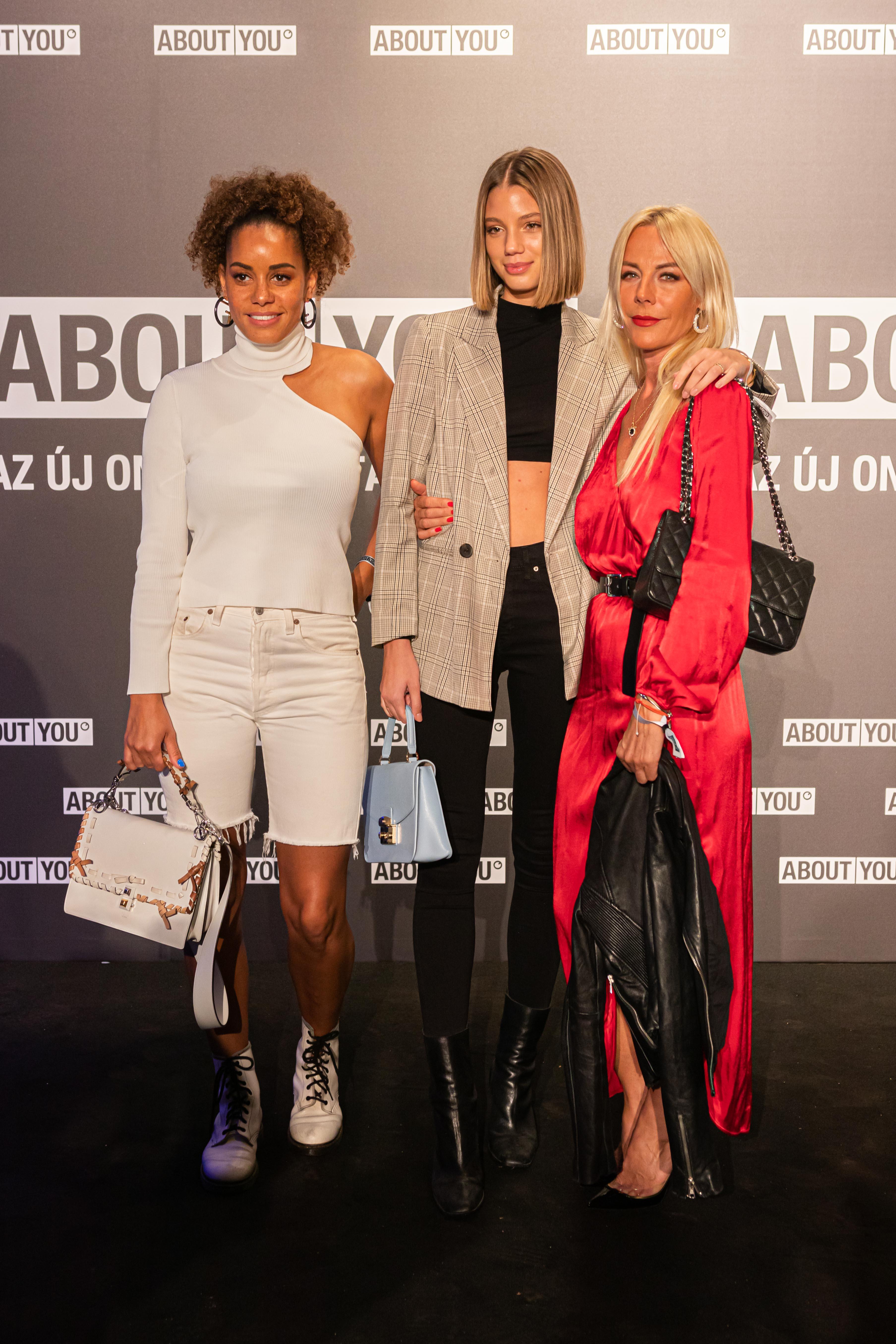 Bianca Malaika, Fábiáncsics Alexandra és Véger Fibi (jobbra)<br />