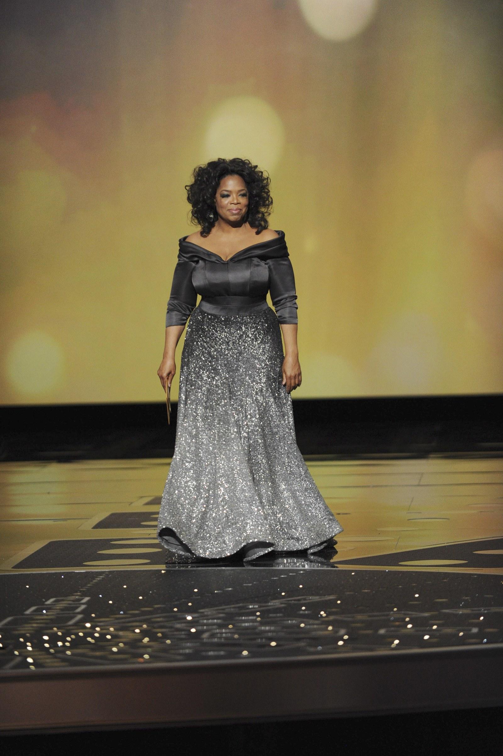 Oprah az Oscar Gála színpadán