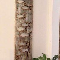 Fából készült fali dísz