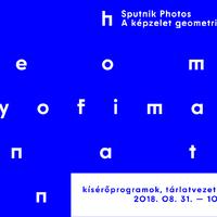 Mészáros Flóra művészettörténész Sputnik tárlatvezetése