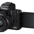 Itt az EOS M50, a Canon első 4K MILC-e