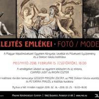 Fotókiállítás: A felejtés emlékei ‒ Fotó / Modell 2