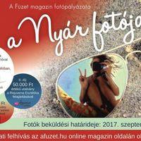 A NYÁR FOTÓJA - a Füzet magazin fotópályázata