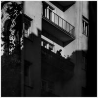 A hét képe: Erkélyen