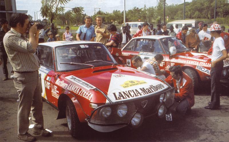 1974 Lancia Fulvia HF Marlboro n1.010 Munari-Drews 03° East African Safari 1974.jpg