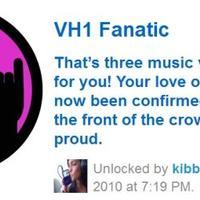 Jelvények - VH1 Fanatic