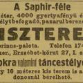 Száz éves hírek - 1912 november