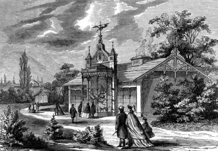Majomház, 1866
