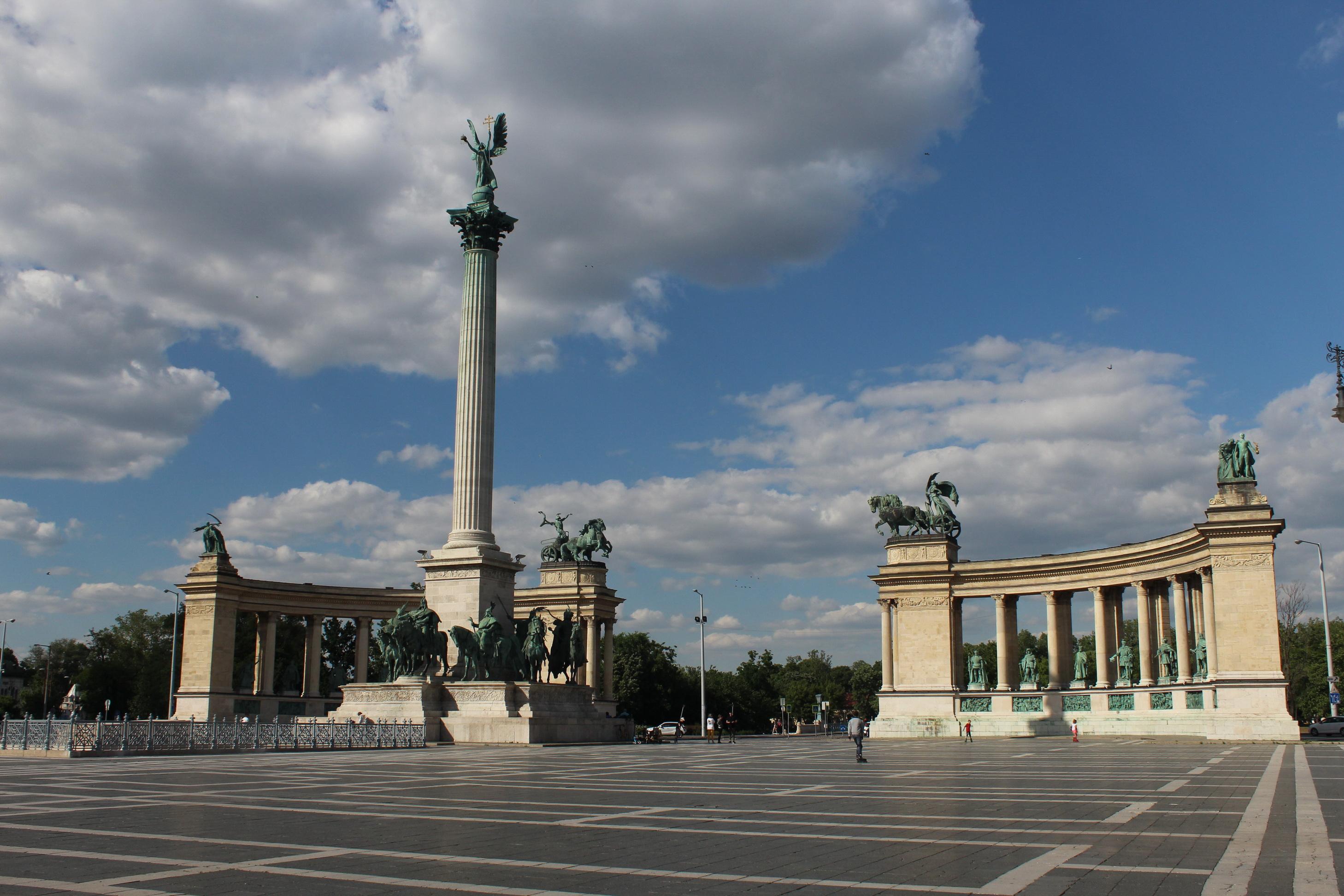 A Milleniumi Emlékmű 2020-ban (kép: Fővárosi Blog)
