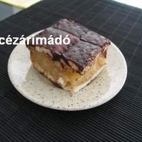 Kekszes-almás süti