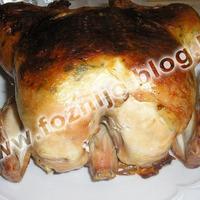 Hagyományos töltött csirke