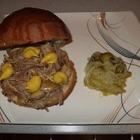 Amerika kedvenc szendvicse - avagy pulled pork szendvics lépésről lépésre
