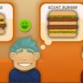 Hamburger boltos játék