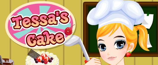 Tessas Cake süteménykészítő játék