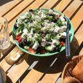 Egy könnyű nyáresti vacsora...  Görög saláta