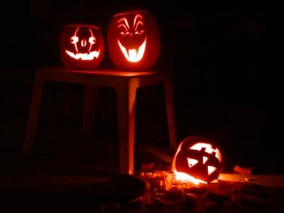 Halloween-i töklámpások