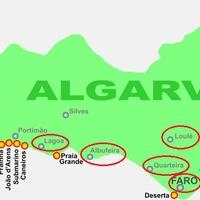 Ismerkedés Algarve városaival