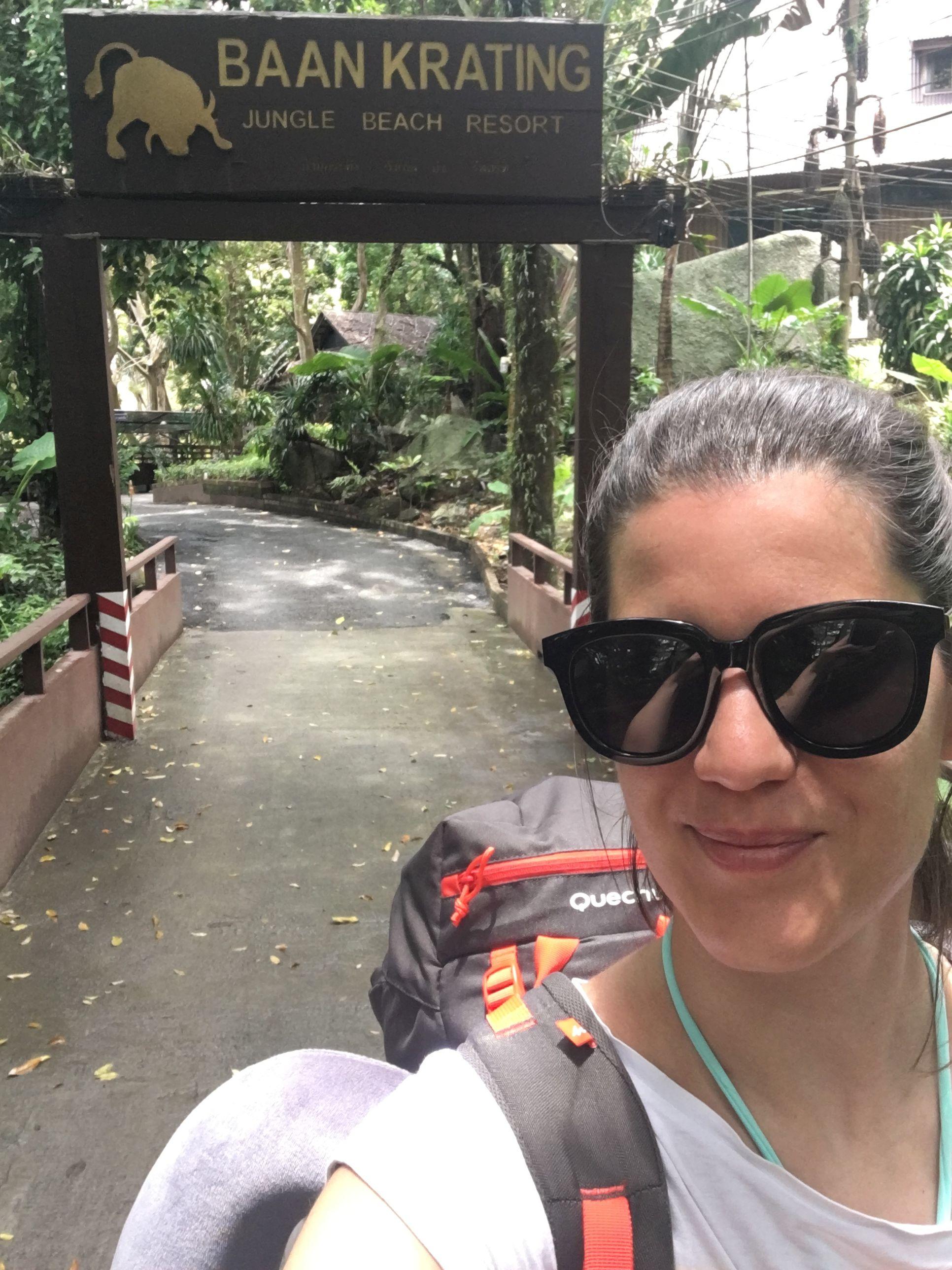 A legjobb, dzsungel szállás, saját partszakasszal, ahol egész nap lehet snorkeling-ni.