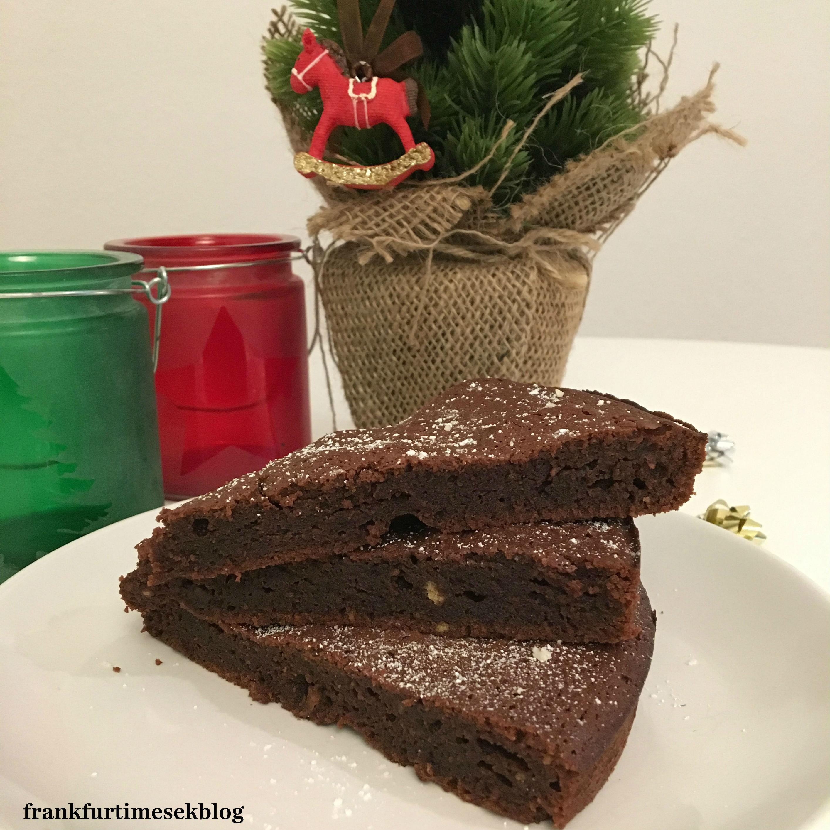A karácsonyi brownie receptje - Advent I.