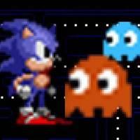 Sonic vs Pacman