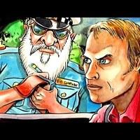 BOLDOG KARIT MINDENKINEK! (Albino Santa Cop :D)