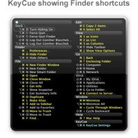 Billentyű-kombinációk megtanulásához: KeyCue